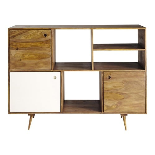 sheesham wood vintage sideboard w 145cm andersen maisons du monde. Black Bedroom Furniture Sets. Home Design Ideas