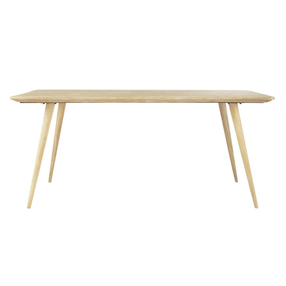 Solid mango wood dining table W 175cm