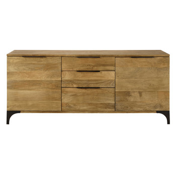 Industrial style maisons du monde for Sideboard 180 cm