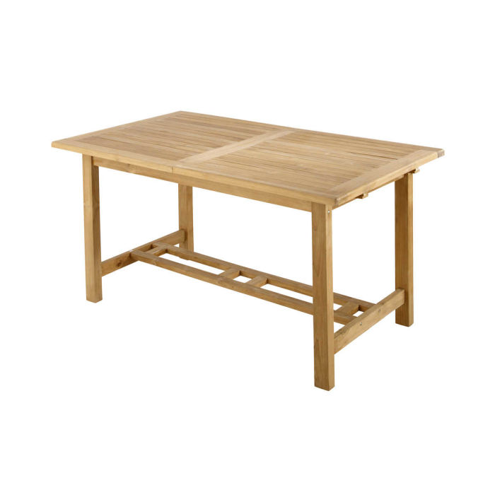 Solid Teak Garden Table W Cm Maisons Du Monde - Solid teak outdoor table