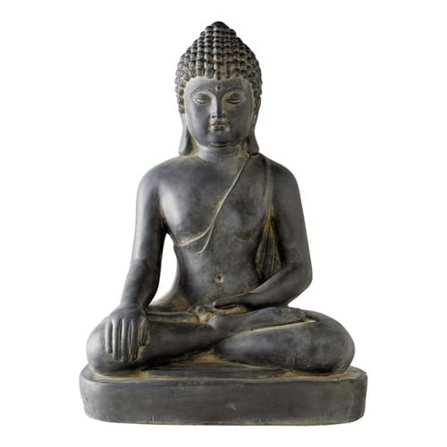 statue bouddha sukhotai assis maisons du monde. Black Bedroom Furniture Sets. Home Design Ideas