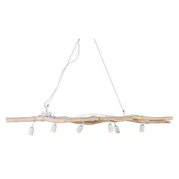 Suspension branchages en bois flott adequate vitrine for Suspension en bois flotte