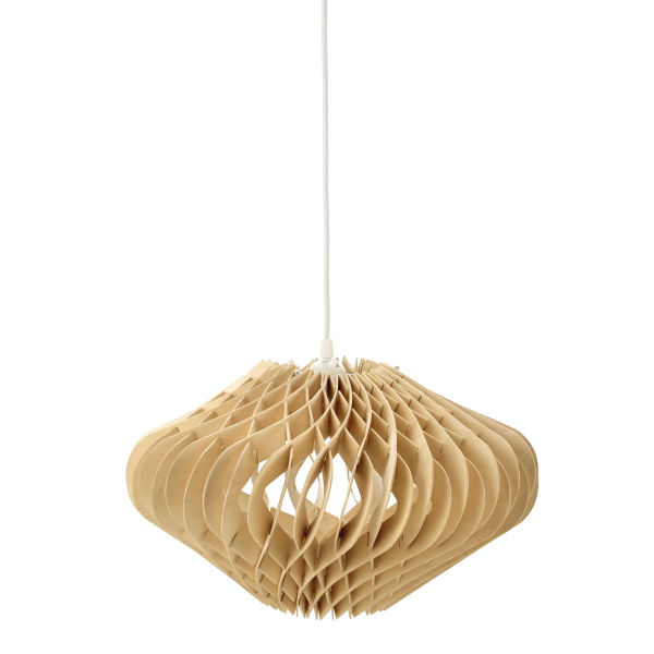 Suspension en bois D 42 cm WOODEN