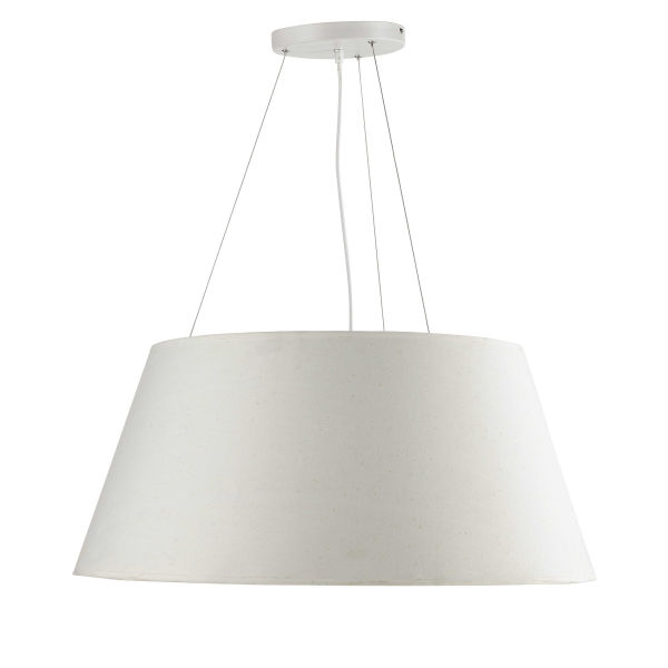 Suspension en coton blanche D 75 cm LISON