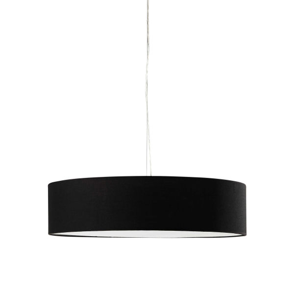 Suspension en coton noire D 60 cm URBAN