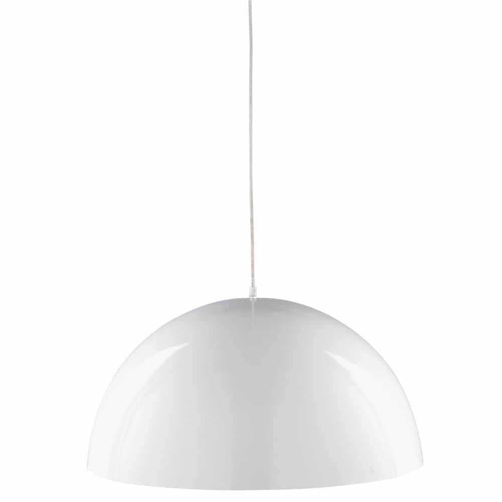 Suspension en métal blanc D.67cm ONDINE
