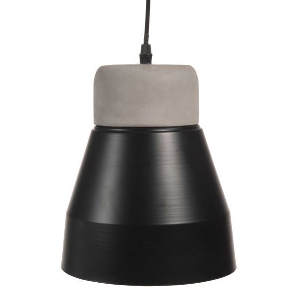 Suspension en métal D 20 cm BLACK CONCRETE