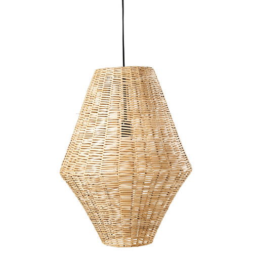 Suspension en rotin tress rivedoux maisons du monde - Suspension en rotin tresse ...