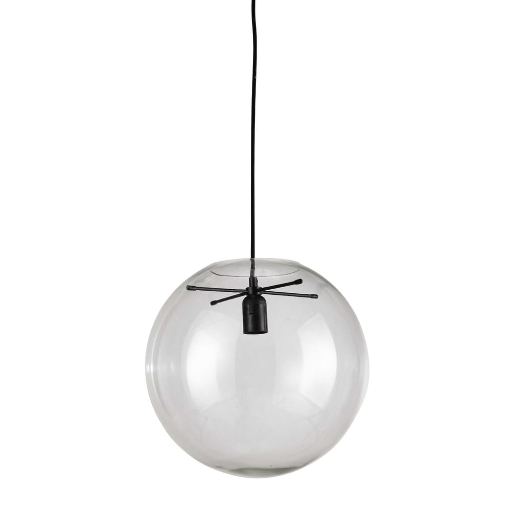 Suspension en verre transparente D 34 cm LAPLACE