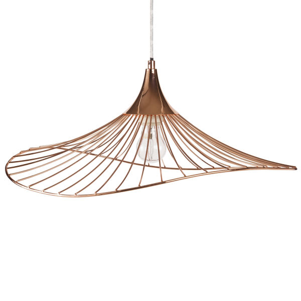 Suspension kastelli trendy affordable finest ikea brasa for Suspension luminaire cage