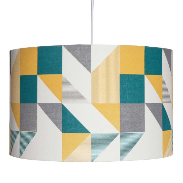 Suspension motifs triangles multicolores D.40cm GRAFF