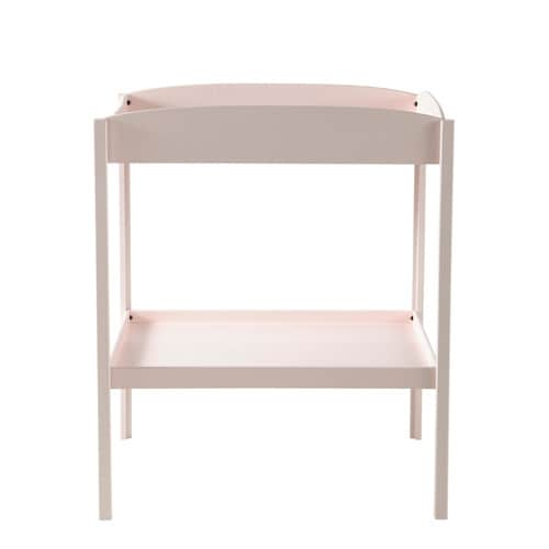 Table langer rose l 80 cm pastel maisons du monde for Table a langer rose
