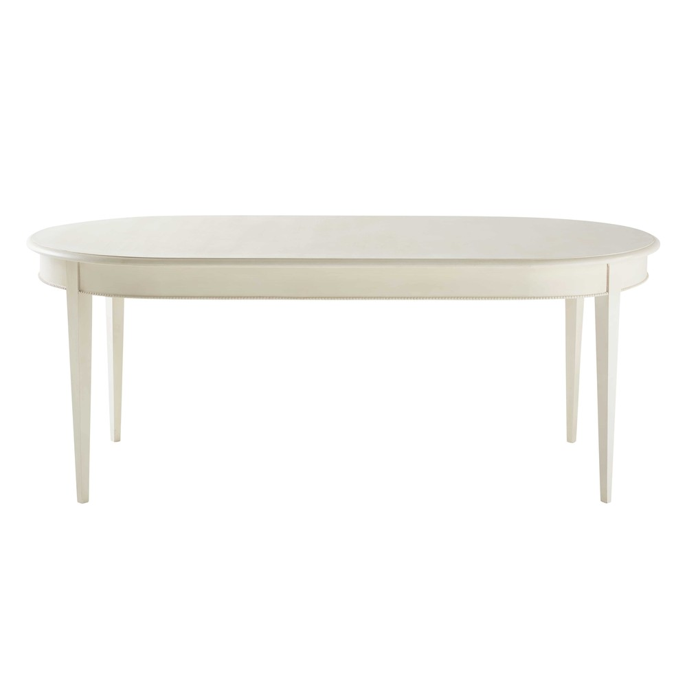 Table à manger 6/8 personnes blanche L200 Bertille