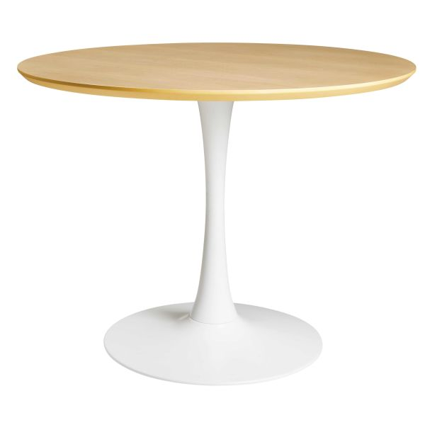 Table à manger ronde 4/5 personnes D100 Circle