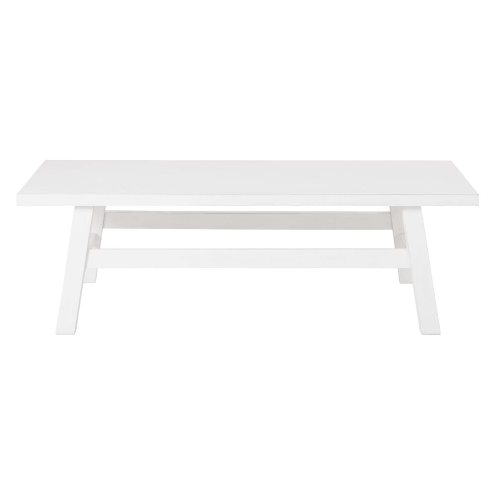 Table basse blanche Bianca (photo)