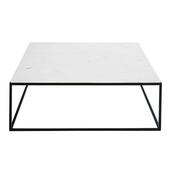 Stunning table basse jardin metal blanc images bikeparty for Table basse noir et blanc