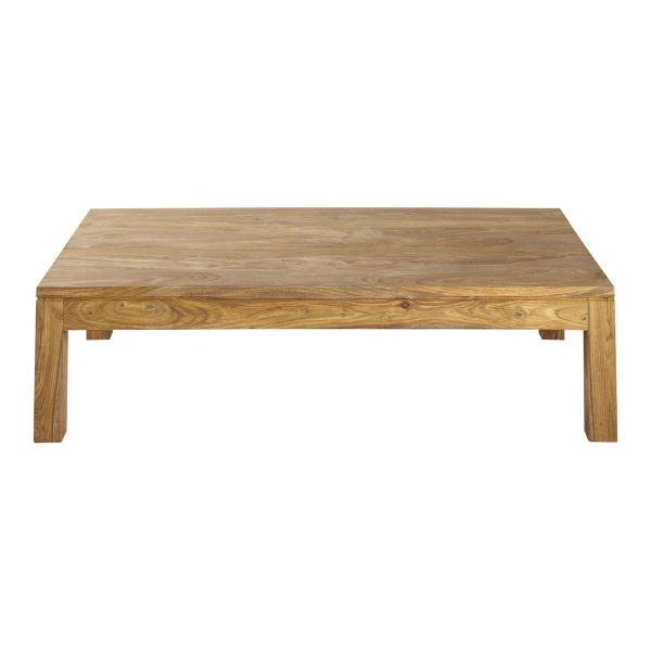 Table basse en bois de sheesham massif L 140 cm Stockholm