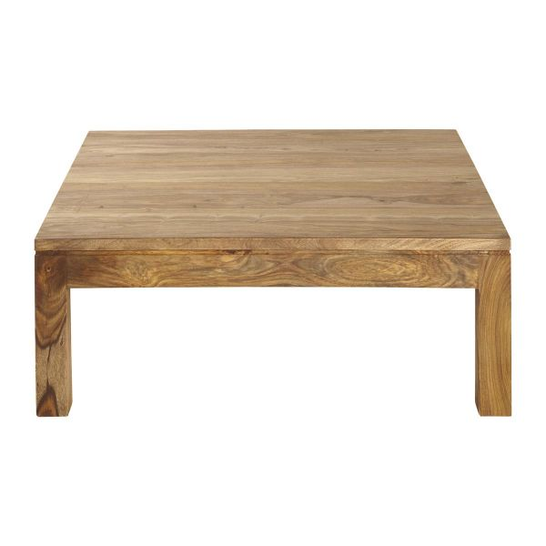 Table basse en bois de sheesham massif L100 Stockholm