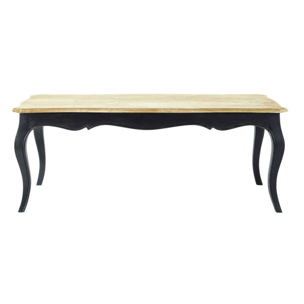 Table basse en manguier massif L 120 cm Versailles