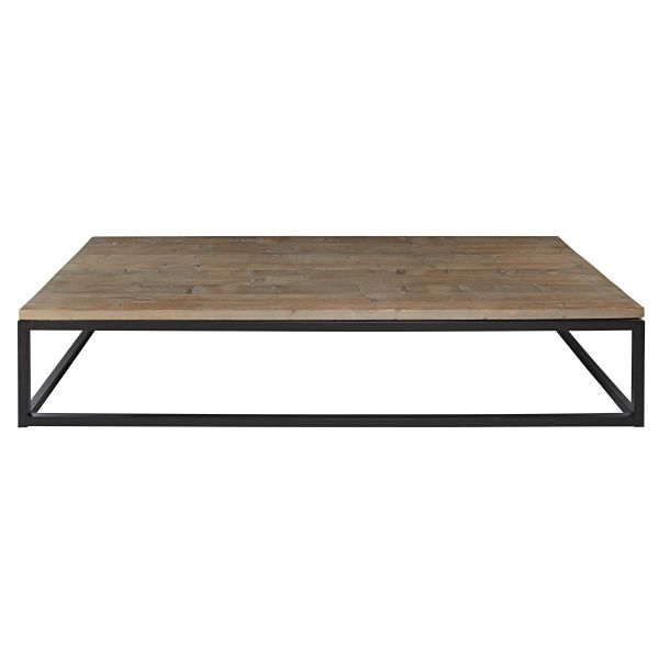 Tables basses maisons du monde fermeequestrecastagne - Table industrielle maison du monde ...