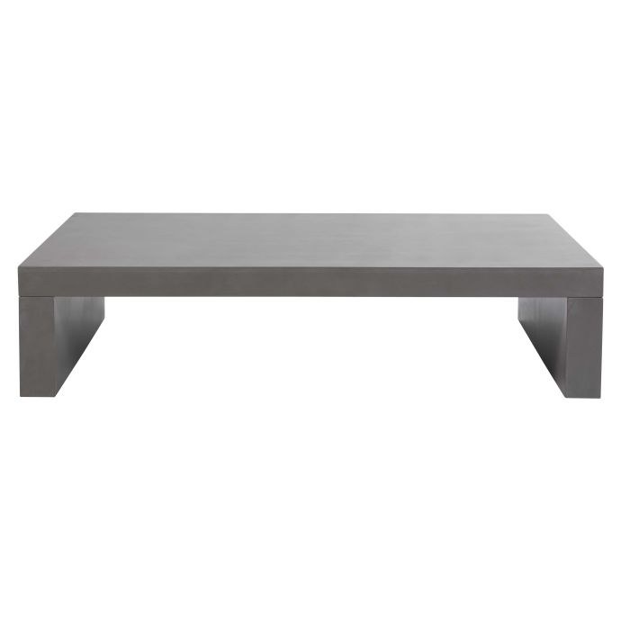 Table basse gris ciment Graphite | Maisons du Monde