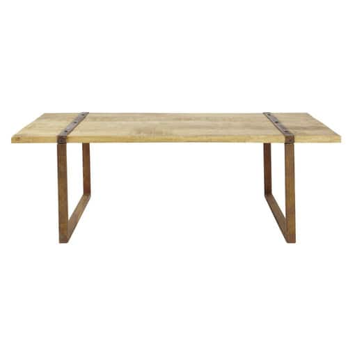 Table basse indus atlantide maisons du monde for Table basse maison du monde