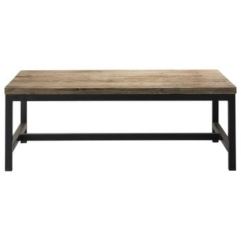Table de salle manger table basse rallonges table en bois ou en m tal - Table salon bois metal ...