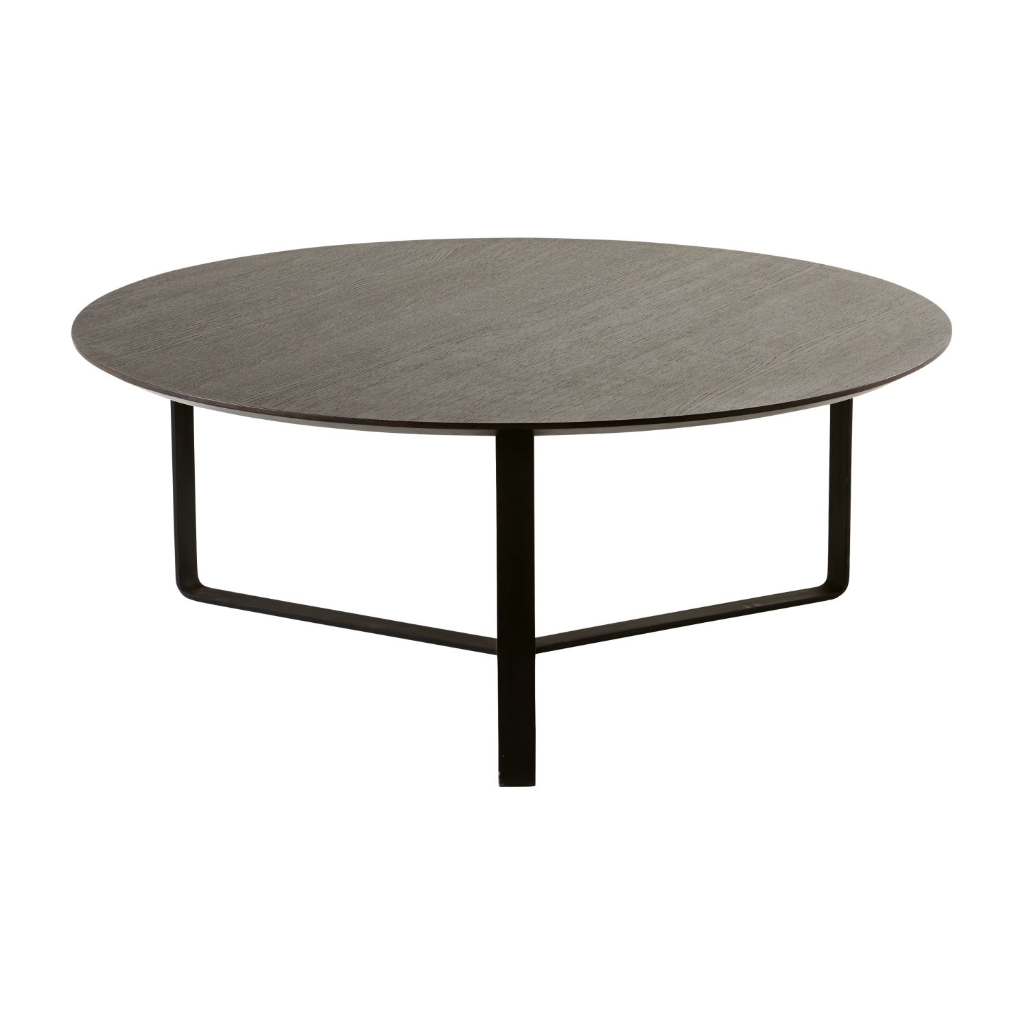 table basse ronde noire maisons du monde. Black Bedroom Furniture Sets. Home Design Ideas