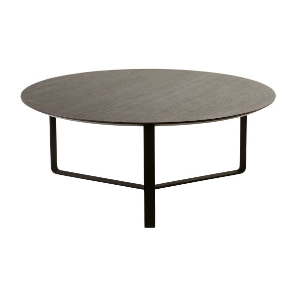 Table ronde noir - Tables basses noires ...