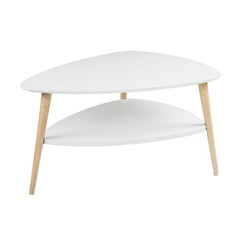 Table basse en bois verre ou m tal maisons du monde for Table basse blanche scandinave