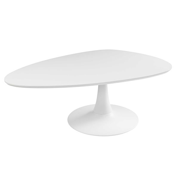 Table basse vintage blanche Twiggy