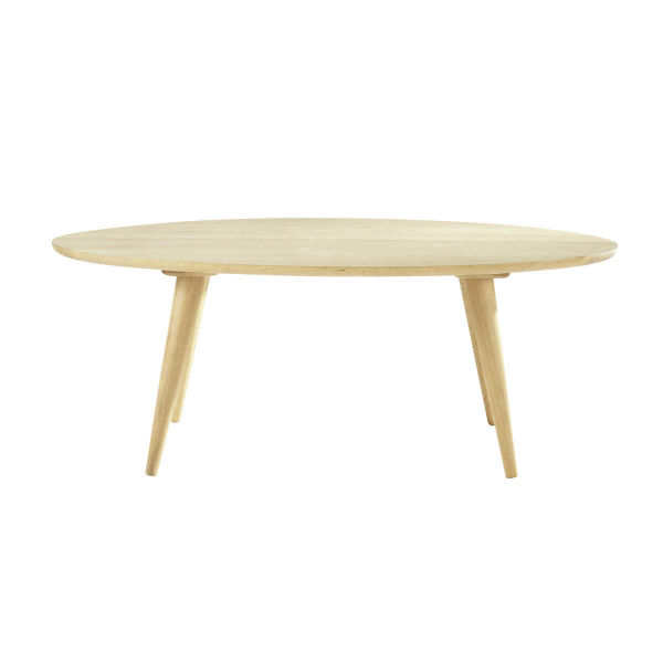Table basse vintage en chêne massif L 120 cm Norway