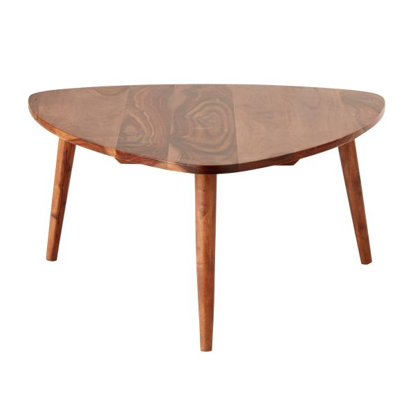 Table basse vintage en sheesham massif Andersen