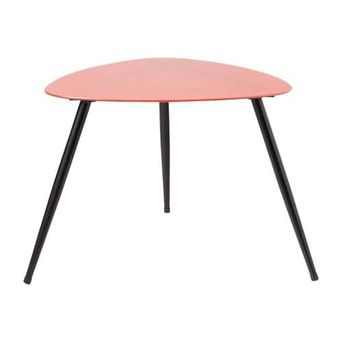 table basse vintage rouge rainbow maisons du monde. Black Bedroom Furniture Sets. Home Design Ideas