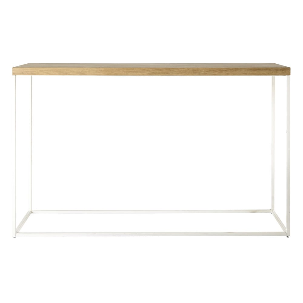 Table console blanche Austral (photo)