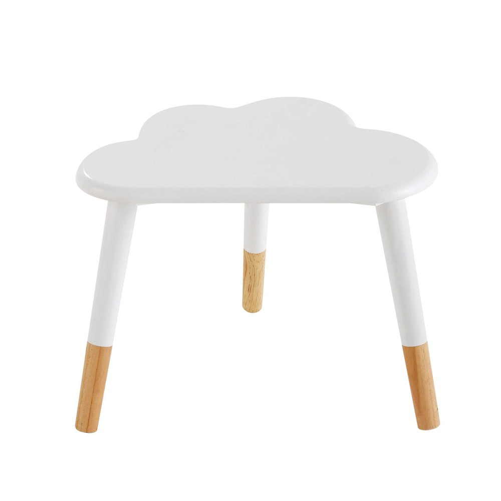 Table de chevet enfant nuage blanche Nuage (photo)