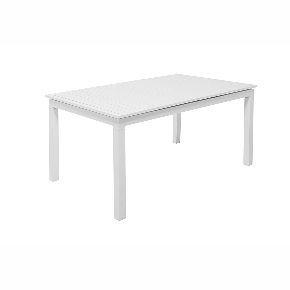 Best table de jardin a rallonge blanche photos awesome for Table 160 cm avec rallonge