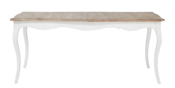 Table blanche carre avec rallonges fabulous table ronde for Table a manger rallonge papillon