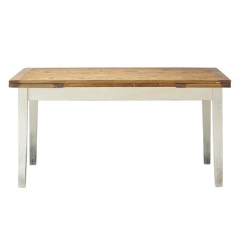 Table de salle manger table basse rallonges table en for Table de salle a manger en bois