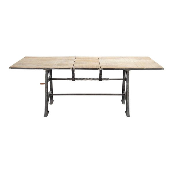 Table massif achat vente de table pas cher for Table salle a manger 3 rallonges