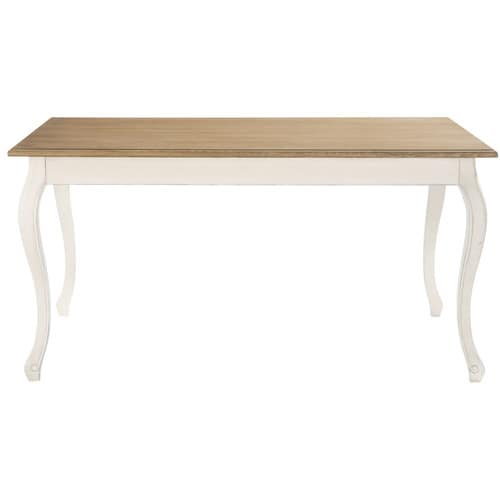 table de salle manger en bois l 160 cm l ontine maisons du monde. Black Bedroom Furniture Sets. Home Design Ideas