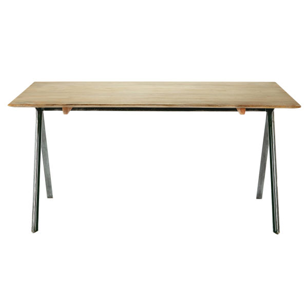 Table de salle à manger en manguier L 160 cm Delight