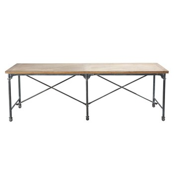 Tables manger 12 personnes maisons du monde for Table salle a manger 240 cm