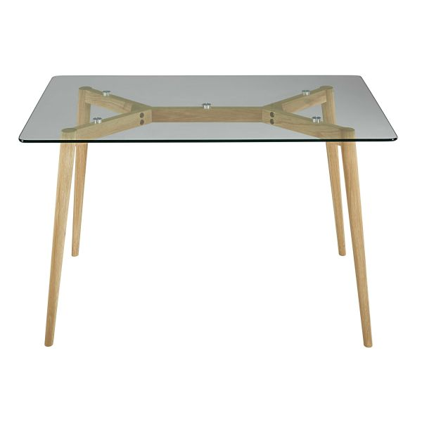 Table salle a manger carre design cestpasleperou for Table en verre salle a manger