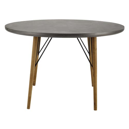 Table ronde de salle manger en bois d 120 cm cleveland for Table a manger 120 cm