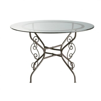 Tables manger rondes maisons du monde - Table a manger ronde en verre ...