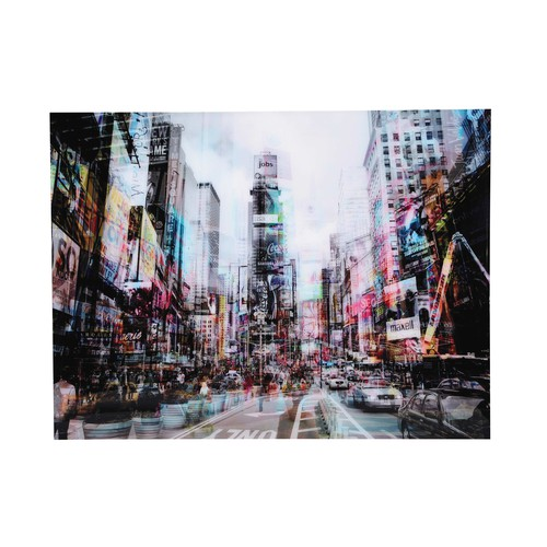 Tableau new york en plexiglas 160x120 urban traffic - Grand tableau new york ...