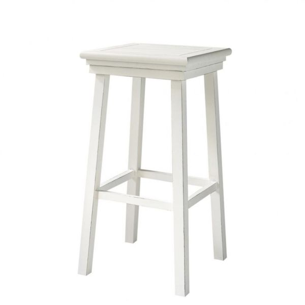 Tabouret de bar en pin blanc Newport (photo)