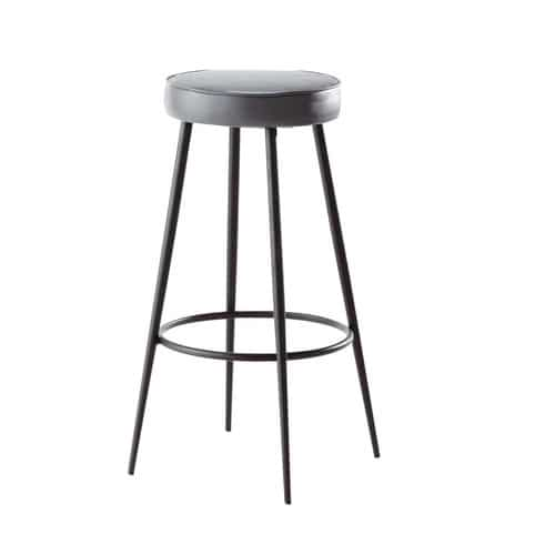 tabouret de bar gris anthracite caps maisons du monde. Black Bedroom Furniture Sets. Home Design Ideas