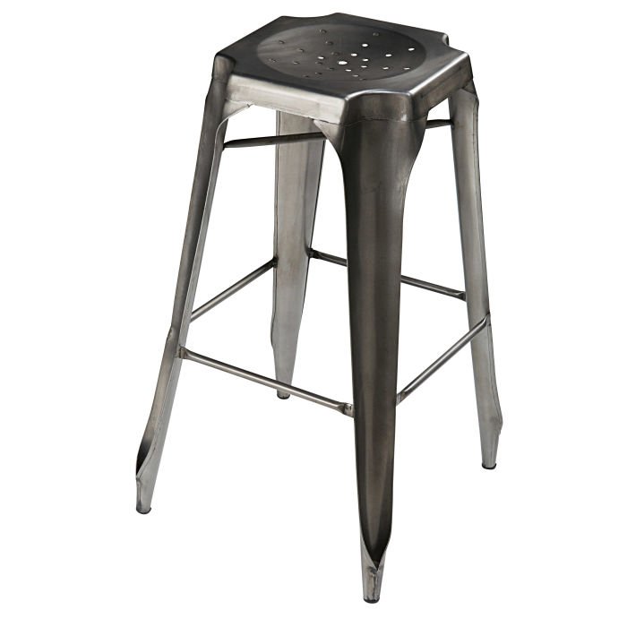 tabouret de bar industriel maison du monde avie home. Black Bedroom Furniture Sets. Home Design Ideas